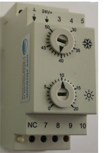 kanal thermostat